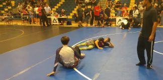 purple belt gets humbled after making fun of Juvenille Yellow Belt