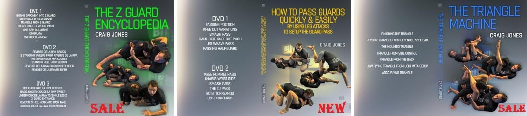 Craig Jones DVDs