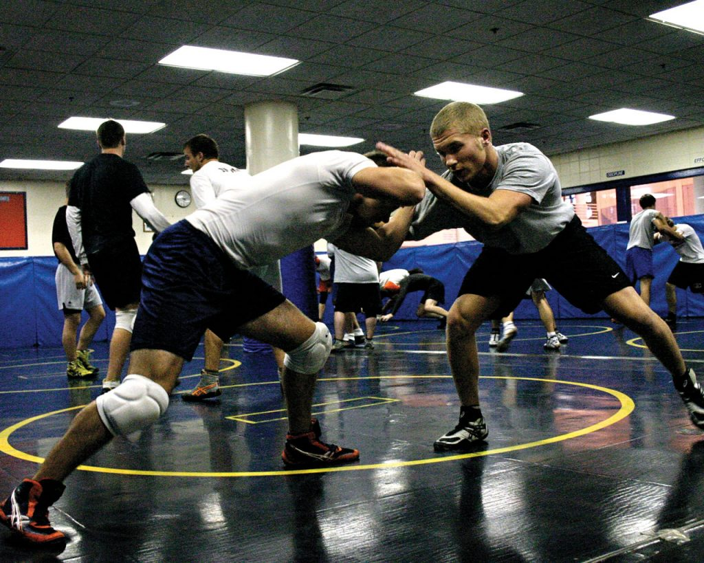 Wrestling Practice 1024x819 - Wrestling Conditioning Drills For Brazilian Jiu-Jitsu
