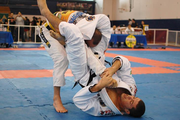 Armbar Submission Grappling