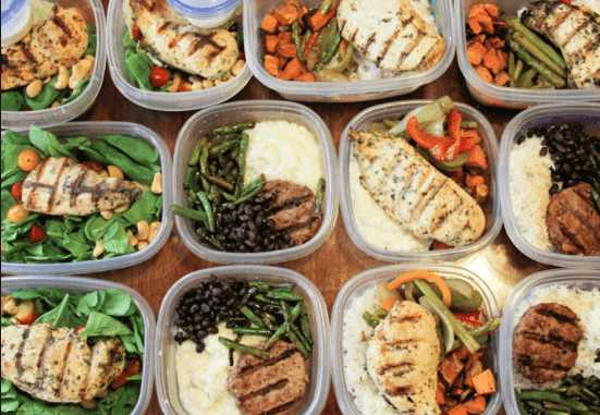 BJJ Nutrition Meal Prep