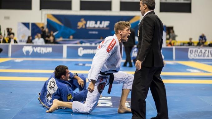 Jiu-Jitsu Tournament defeat