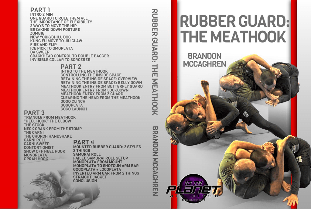 Review Of The Rubber Guard: the Meathook best BJJ DVD Of 2019