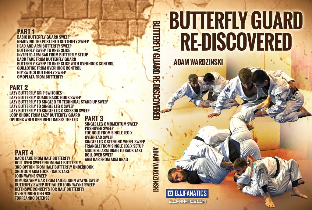 Adam Wardzinski DVD BUtterfly guard Re-Mastered Review Best BJJ DVD 2019