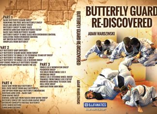 Adam Wardzinski DVD BUtterfly guard Re-Mastered