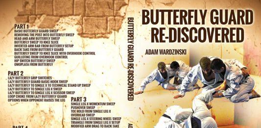 Adam Wardzinski DVD BUtterfly guard Re-Discovered