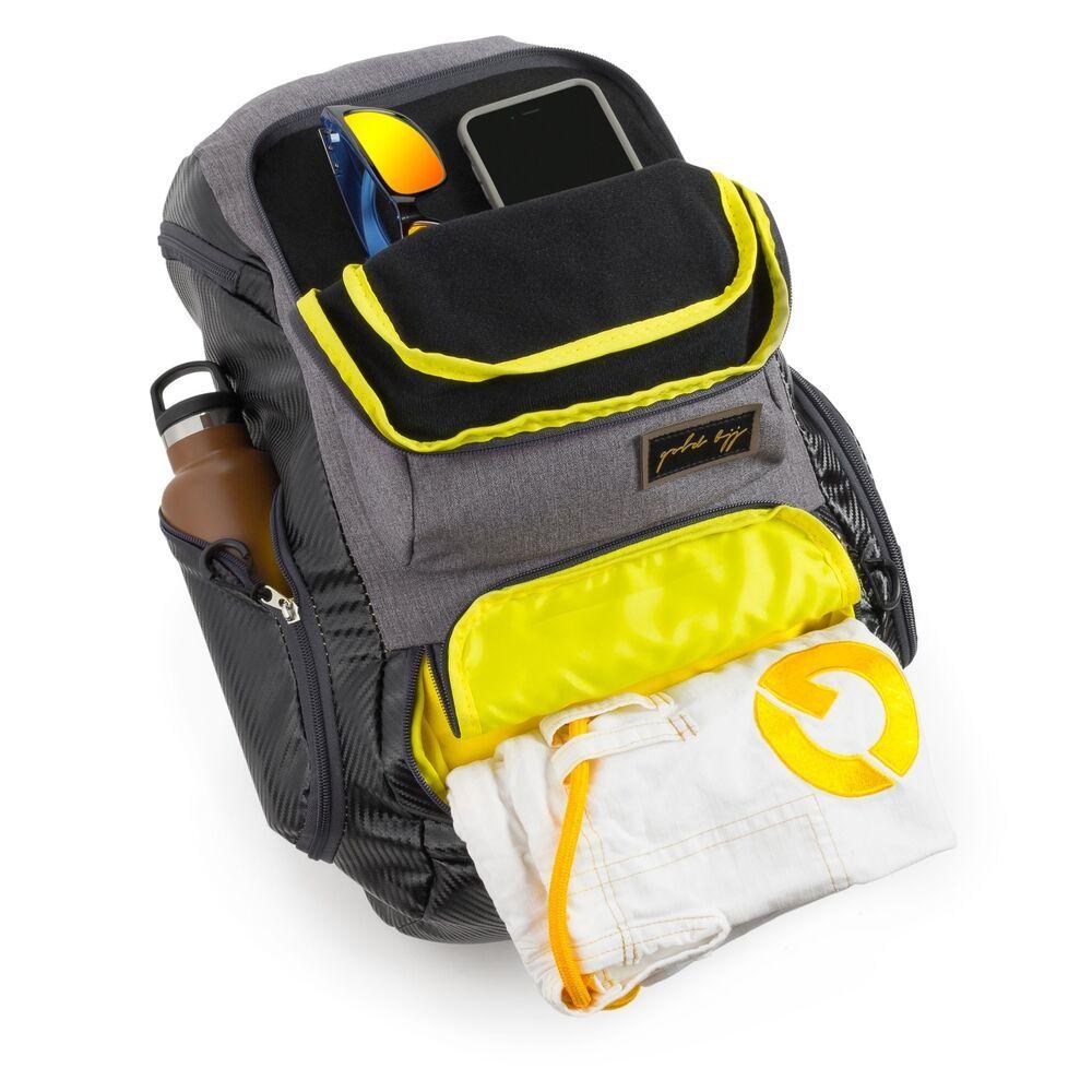 Gold BJJ Jiu Jitsu Backpack - Jiu-Jitsu Gear Essentials To Keep In Your BJJ Gi Bag