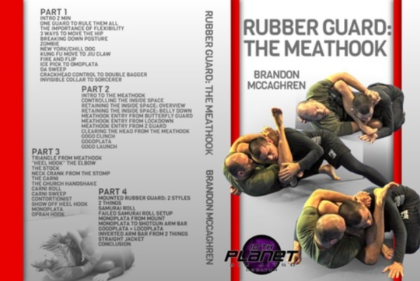 Rubber Guard: The Meathook DVD by Brandon McCaghren