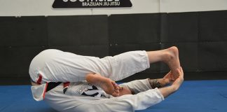 BJJ stretch routine