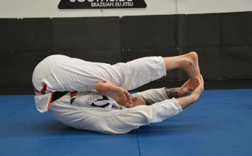 BJJ stretch routine