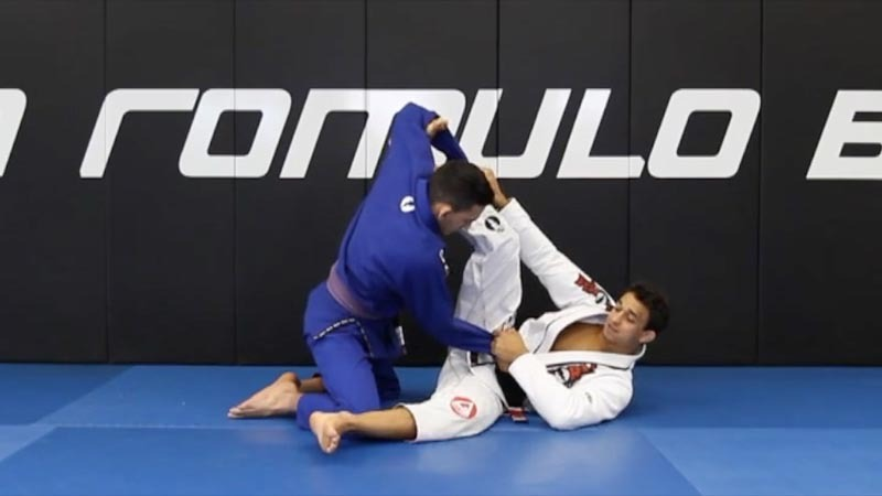 romulo spider vol1 video 1 - Purple Belt Guide To Developing A Mean Jiu-Jitsu Guard