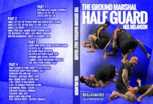 DVDwrap Neil Half Guard 1 300x205 - REVIEW: Neil Melanson DVD - The Ground Marshall Half Guard