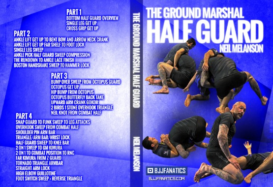 The Ground Marshall Half Guard DVD - Best BJJ DVD 2019 Reviews