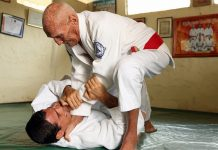 Old man BJJ Game Blueprint