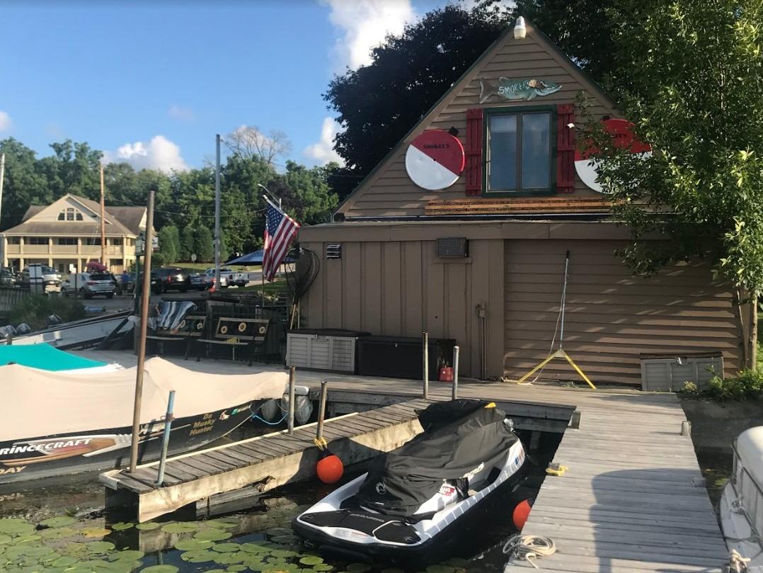 Over a bait shop (Nova Gyms, Pewaukee WI)
