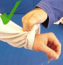 BJJ Sleeve Grip