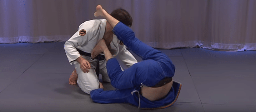 BJJ Inverted guard
