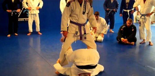 Inverted guard jiu-Jitsu