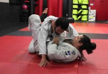 Closed Guard brabo choke