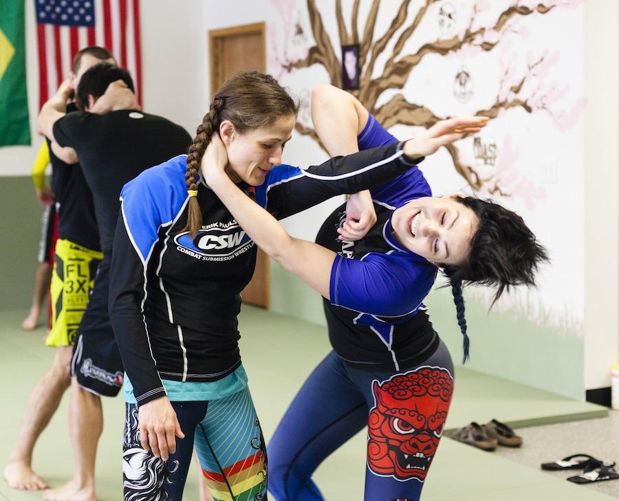 Jiu-Jitsu For Women Hair