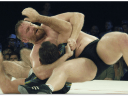 Chest Choke Catch Wrestling Submission