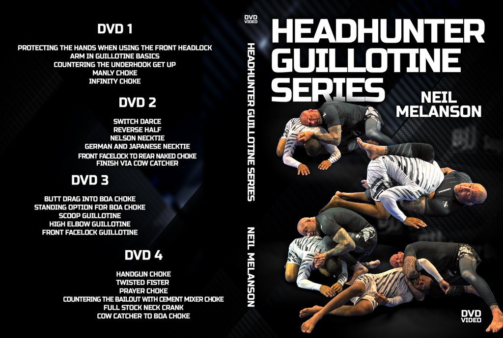 DVDwrap Neil Guillotine 1024x1024 1024x689 - Neil Melanson DVD Collection - A Submission Heaven