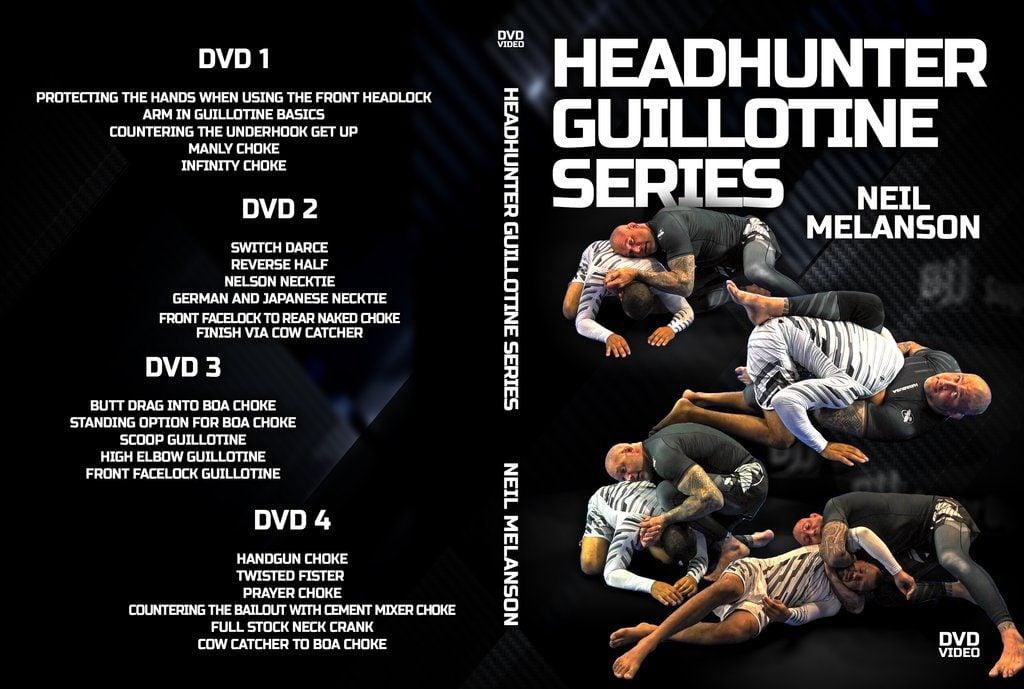 DVDwrap Neil Guillotine 1024x1024 1024x689 - Neil Melanson DVD Collection - A Submission Heaven