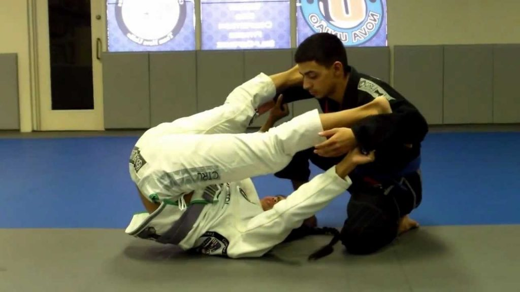 Inverted guard 1024x576 - Passing The Guard Of Extremely Flexible Grapplers