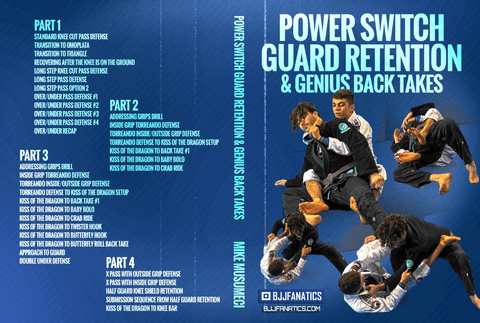 Mikey Musumeci DVD Guard Retention