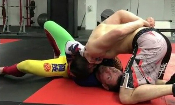 No-Gi baseball Choke Secrets