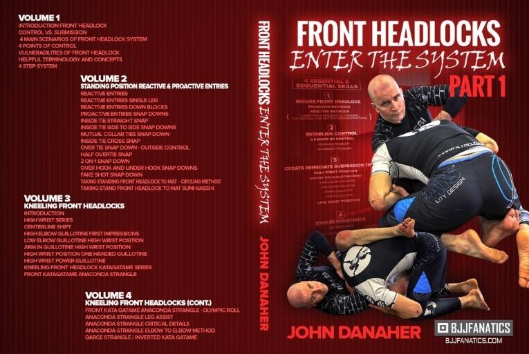 John Danaher DVD Front HeadLock System