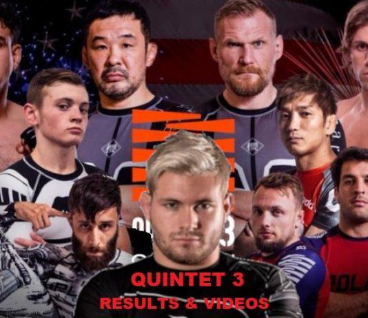 Quintet 3 Results Videos