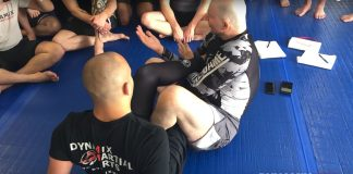 Legal BJJ Foot Lock From Saddle