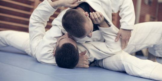 BJJ Scarf Hold