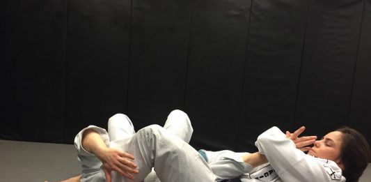 Jiu-Jitsu Roll With Closed Eyes