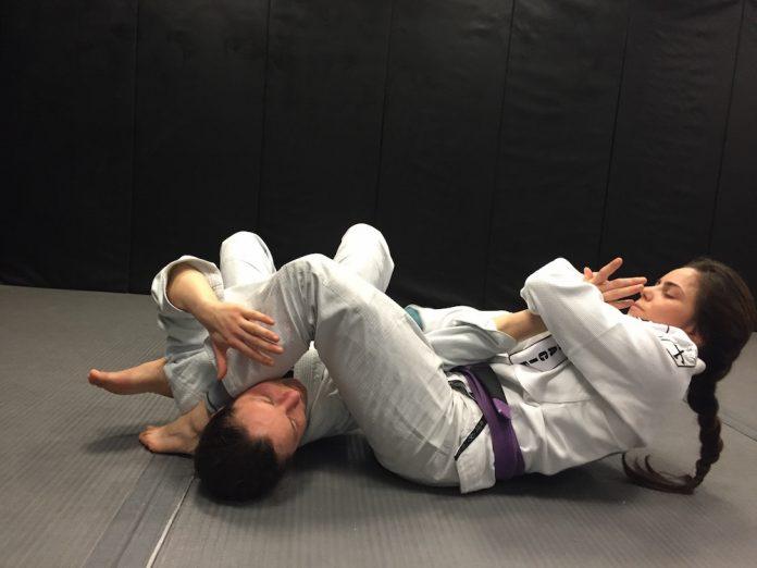 Jiu-Jitsu Roll With Closed Eyes