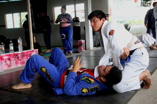 BJJ Instructor Annoyed