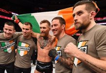 Conor McGregor Camp Coach Kavanagh, Lockhart
