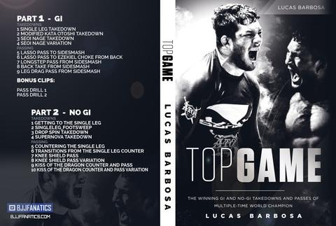 Lucas Barbosa Top Game Best BJJ DVD Review