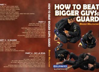 Bruno Malfacine DVD How to Beat Bigger Guys: Guard