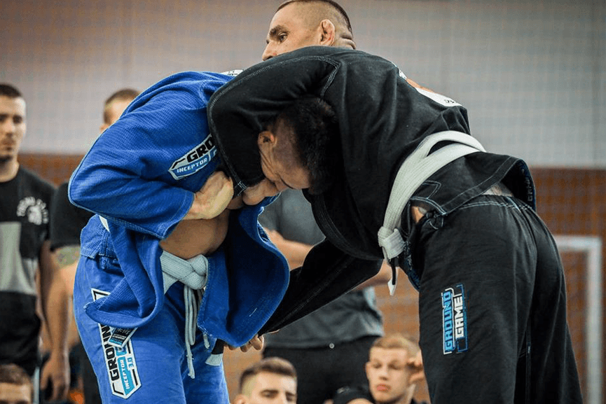 BJJ Tournament A -Game Standing