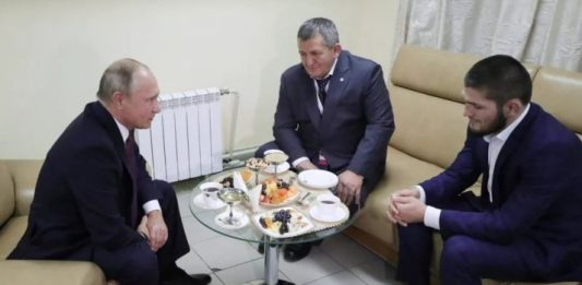 Khabib Meets Putin - Russian President With Some Kind Words For Khabib
