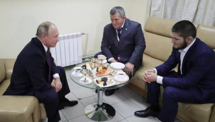 Khabib Meets Putin - Russian President With Some Kind Words For Khabib