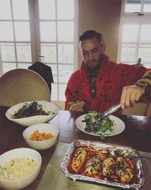 connor mcgregor feasting on chicken breast 300x376 - A George Lockhart Meal Plan For Brazilian Jiu-Jitsu