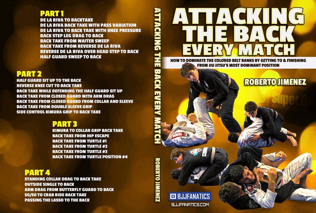 Roberto Jimenez DVD Review - Attack the Back Every Match: Best BJJ DVD for 2019