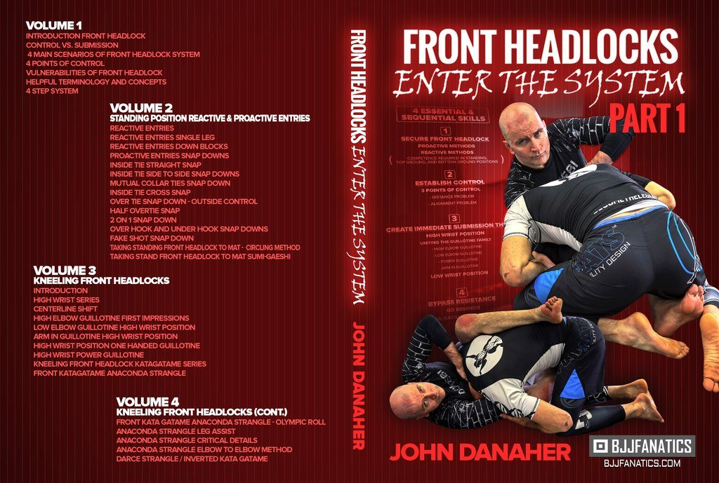 Front Headlock: Enter The System in John Danaher DVD Collection