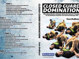 Closed Guard Domination Tom DeBlass DVD