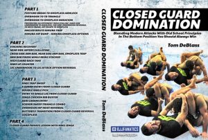 DVDwrap 4 300x202 - Closed Guard Domination Tom DeBlass DVD Review