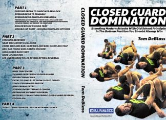Closed Guard Domination Tom DeBlass DVD