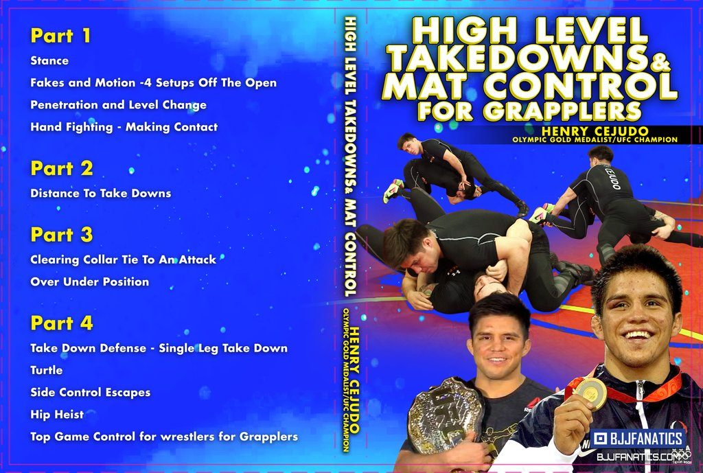 Henry Cejudo BJJ DVD Review - High Level takedowns And Mat Control For grapplers